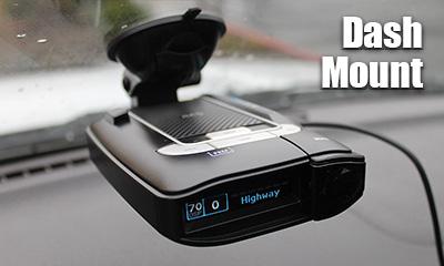 Dash-Mount Detectors